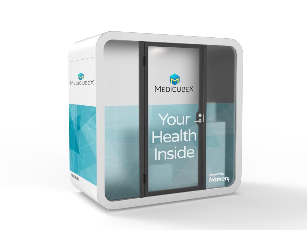 MedicubeX's eHealth station
