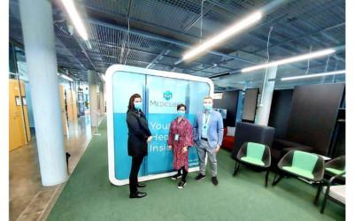 MedicubeX launches its first demo eHealth station