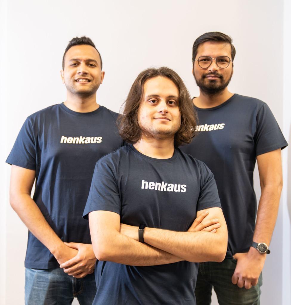 Team members of Henkaus